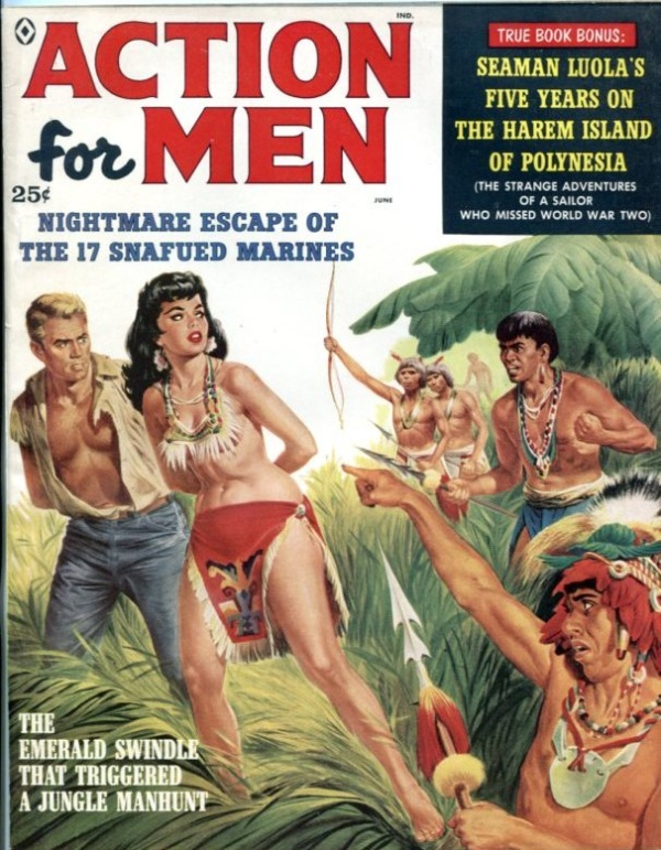 Action For Men June 1959