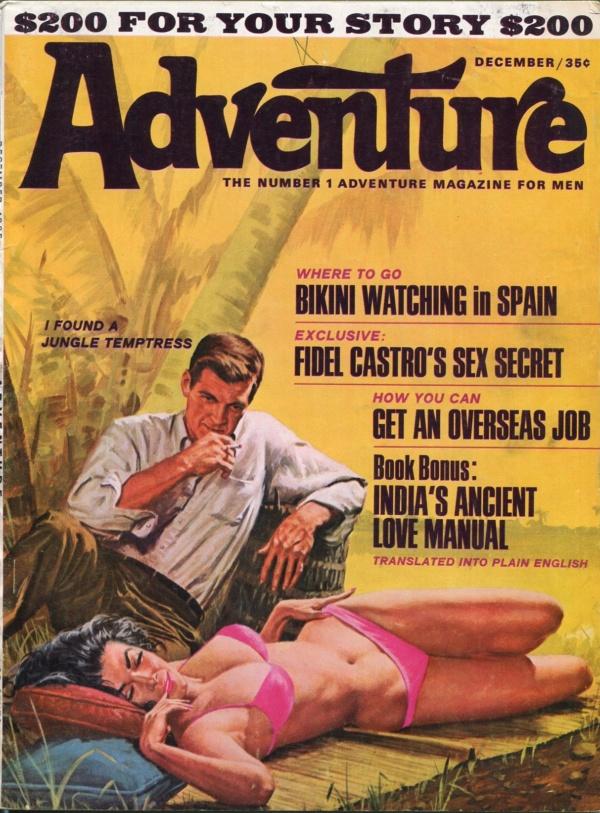 Adventure Magazine December 1965