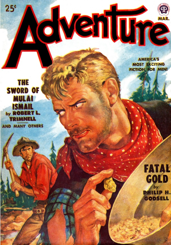 Adventure March 1950