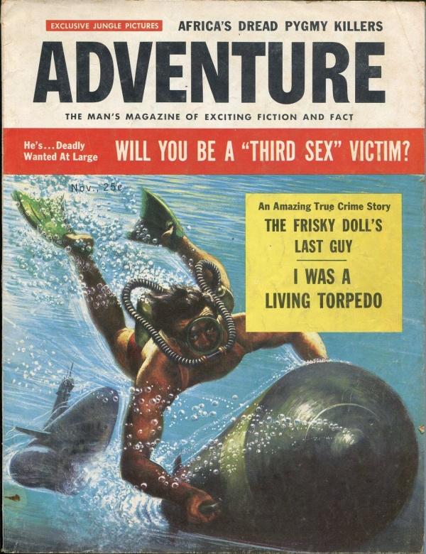 Adventure November 1956