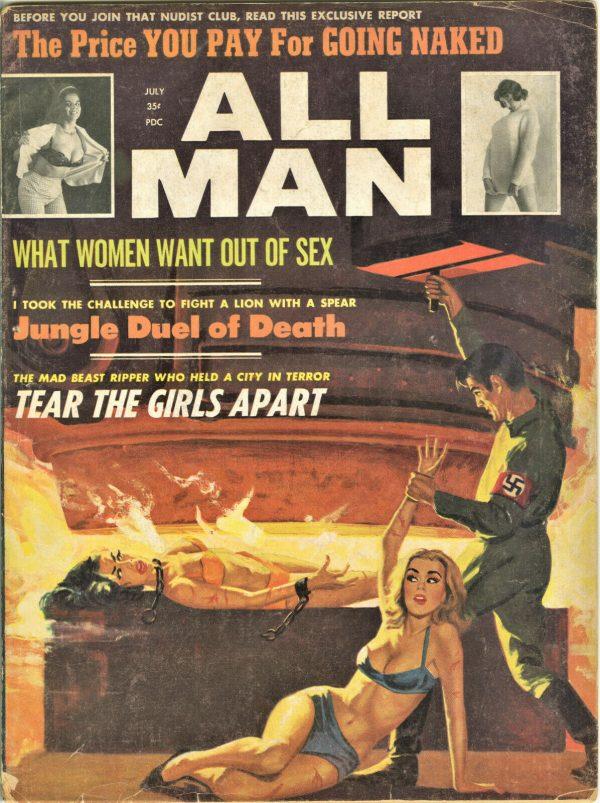 All Man Magazine July 1964