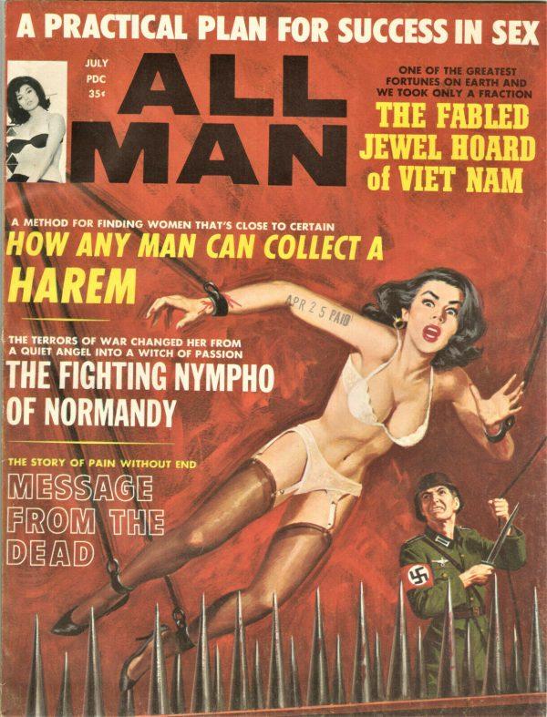 All Man Magazine July 1965