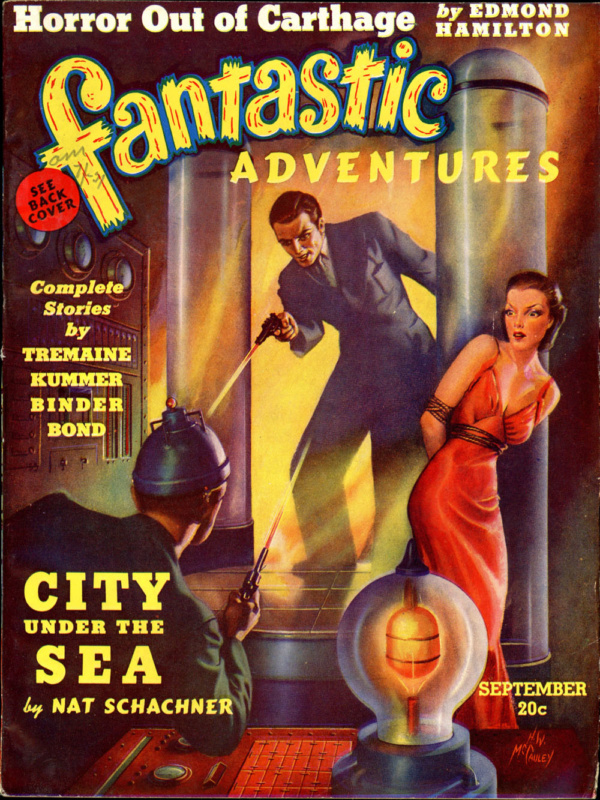 FANTASTIC ADVENTURES. September, 1939