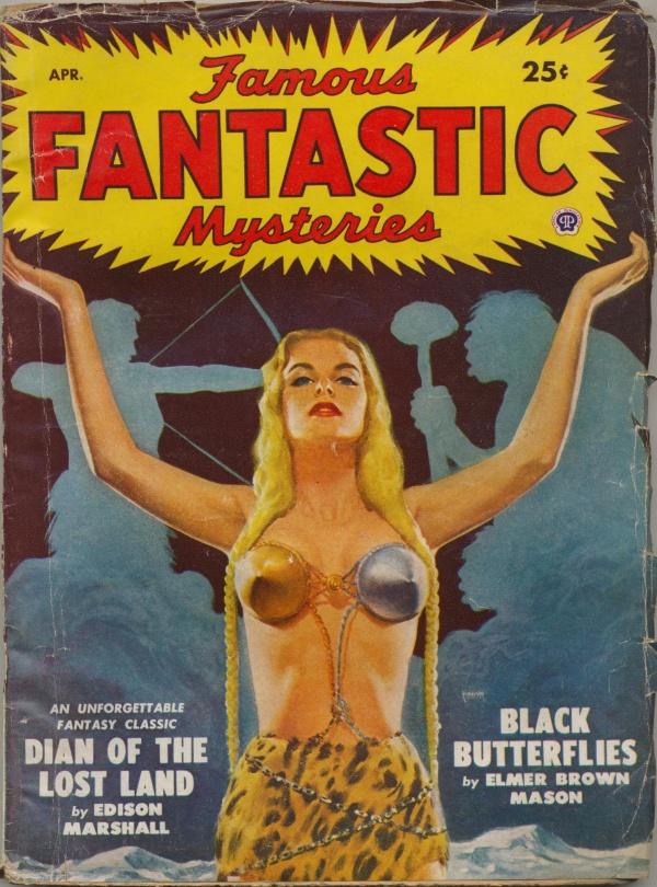 Famous Fantastic Mysteries, April 1949