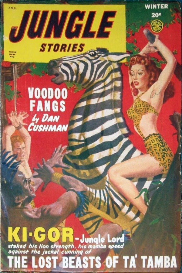 Jungle Stories Winter 1948