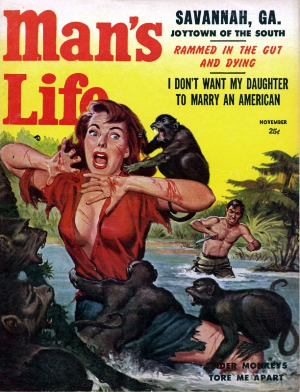 Man's Life November 1957