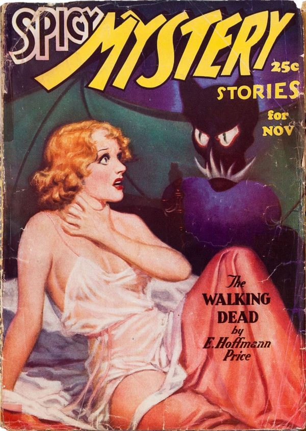 November 1935 Spicy Mystery Stories