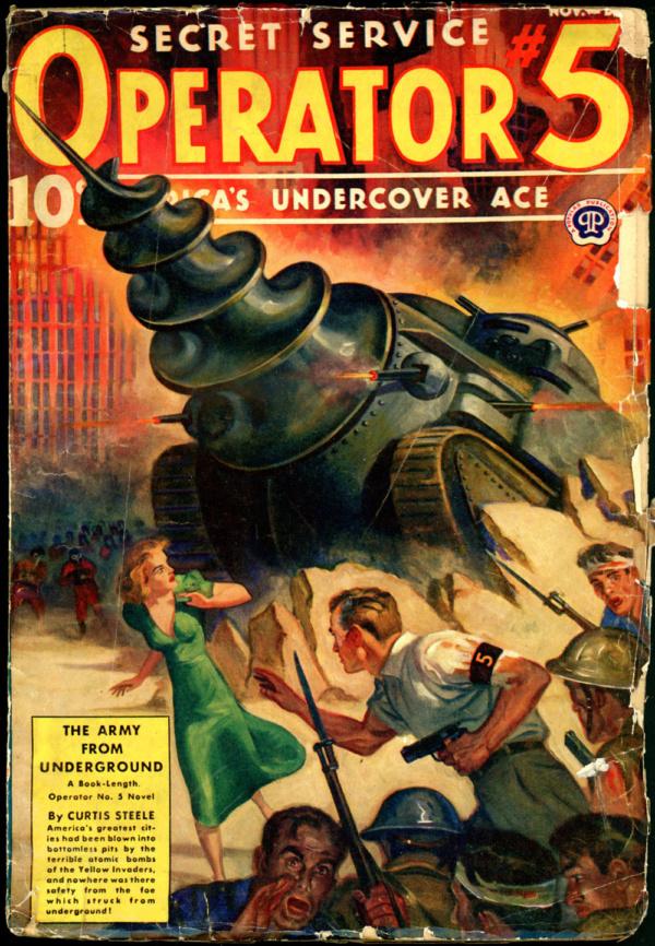 OPERATOR #5. November-December 1939