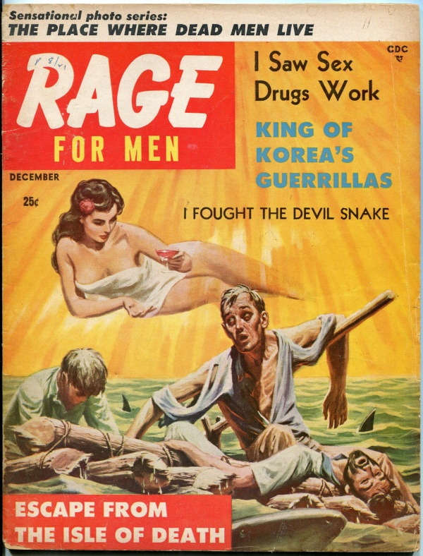 Rage Issue #7 December 1957