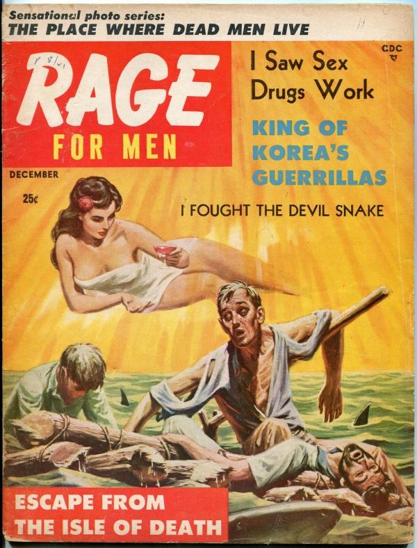 Rage Issue #7 December 1957