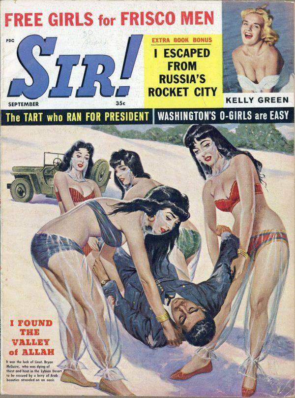 Sir, Sept. 1960