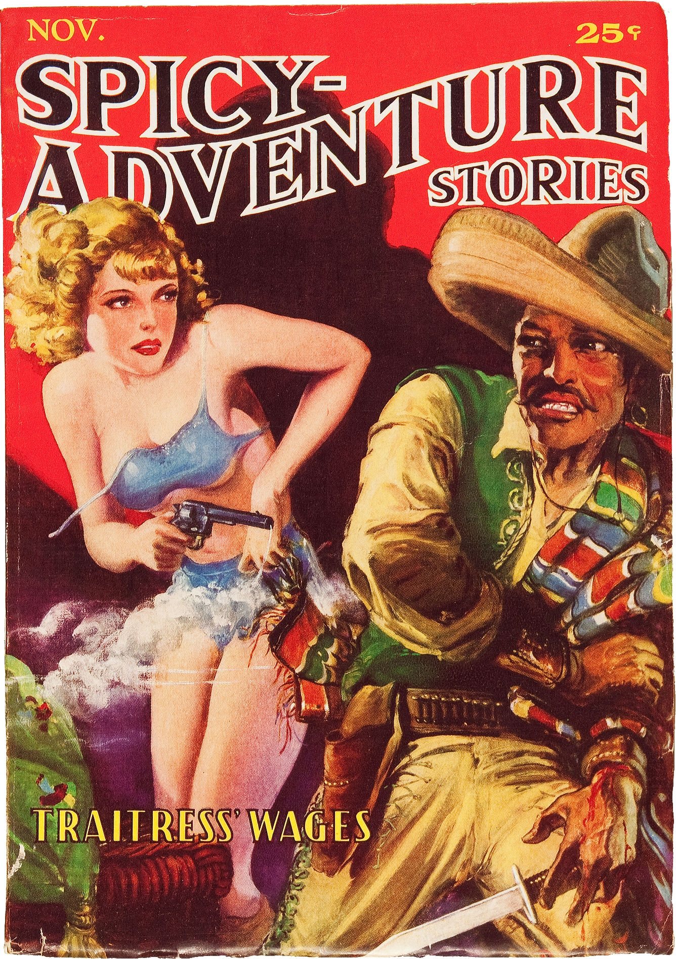 Spicy Adventure Stories November 1935