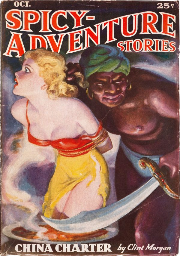 Spicy Adventure Stories - October 1936