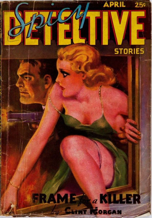 Spicy Detective Stories - April 1936