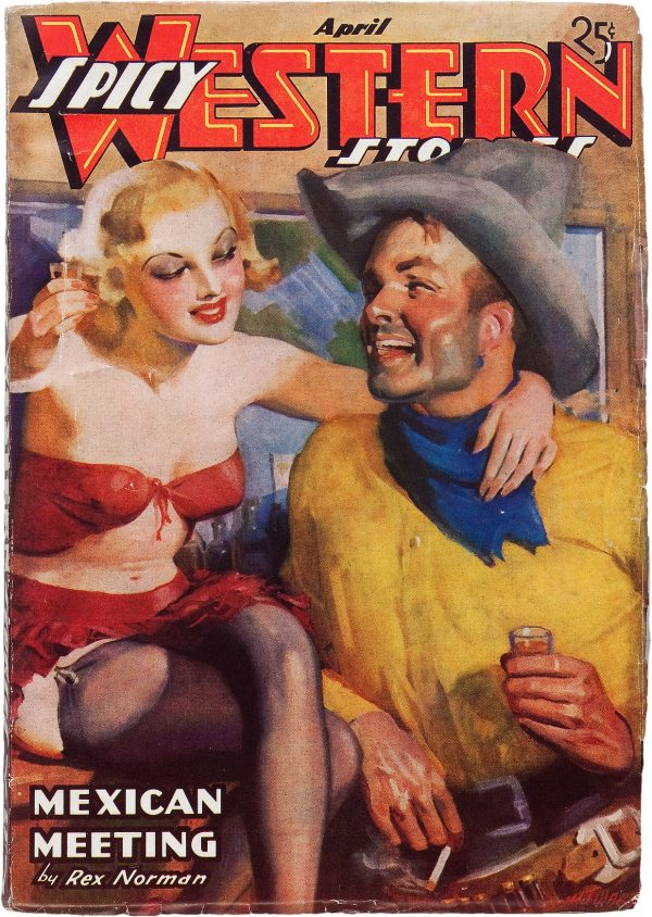 Spicy Western Stories - April 1937