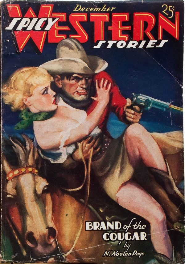Spicy Western Stories - December 1936