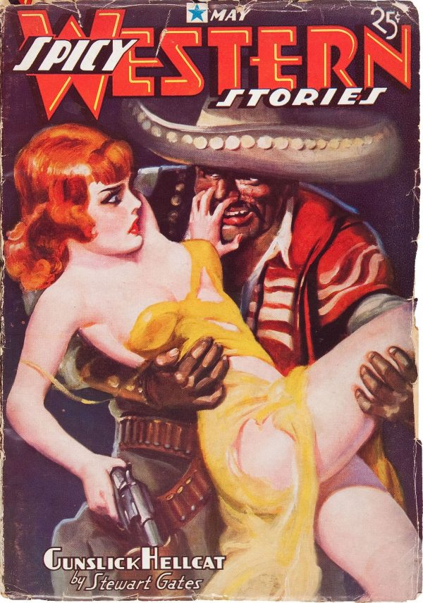 Spicy Western Stories May 1937