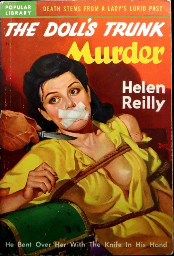 Popular Library 211 (1949).  Cover Art by Rudolph Belarski