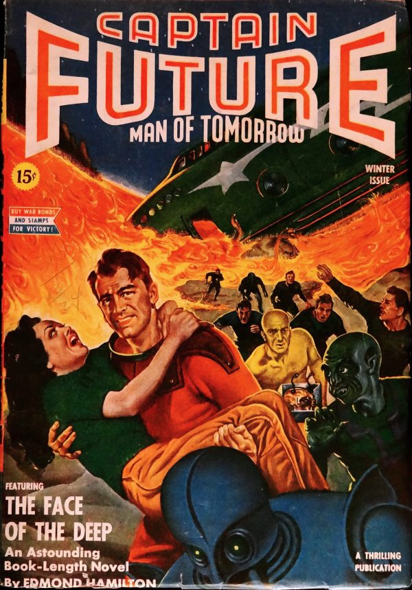 Captain Future Vol. 5, No. 1 (Winter, 1943)