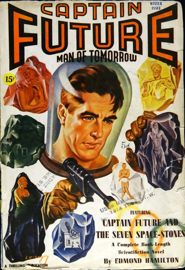 Captain Future Vol. 2, No. 2 (Winter, 1941). Cover Art by Earle Bergey