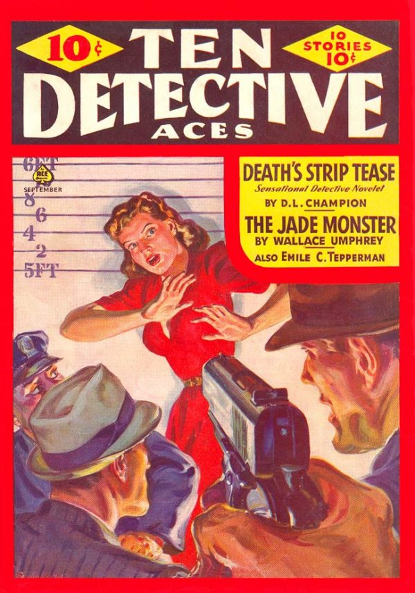 Ten Detective Aces September 1941