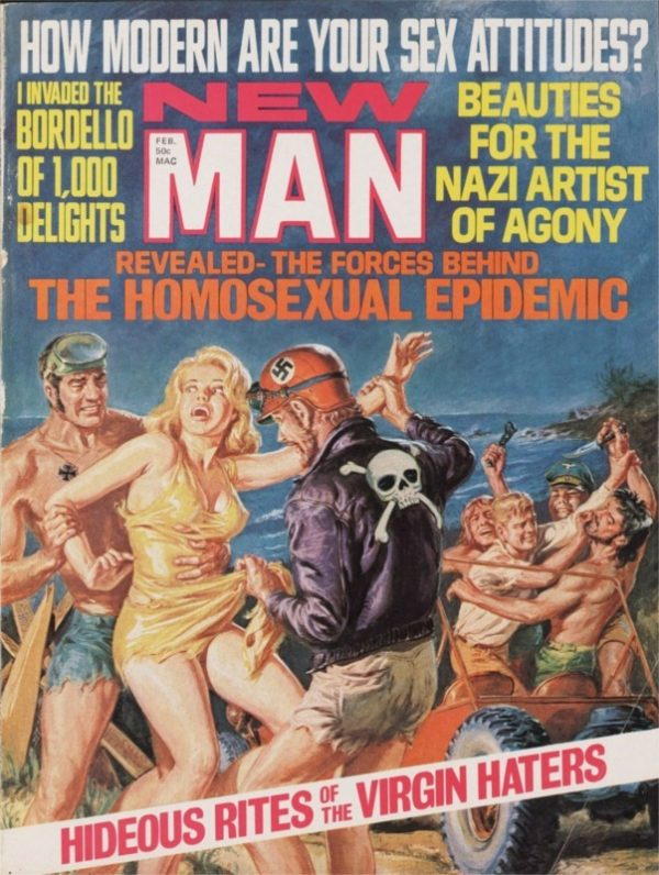 19576944-New Man, February 1971, cover by Norman Saunders