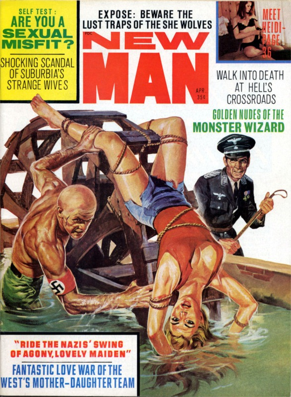 20131263-New Man - 1968 04 April - Cover by Basil Gogos