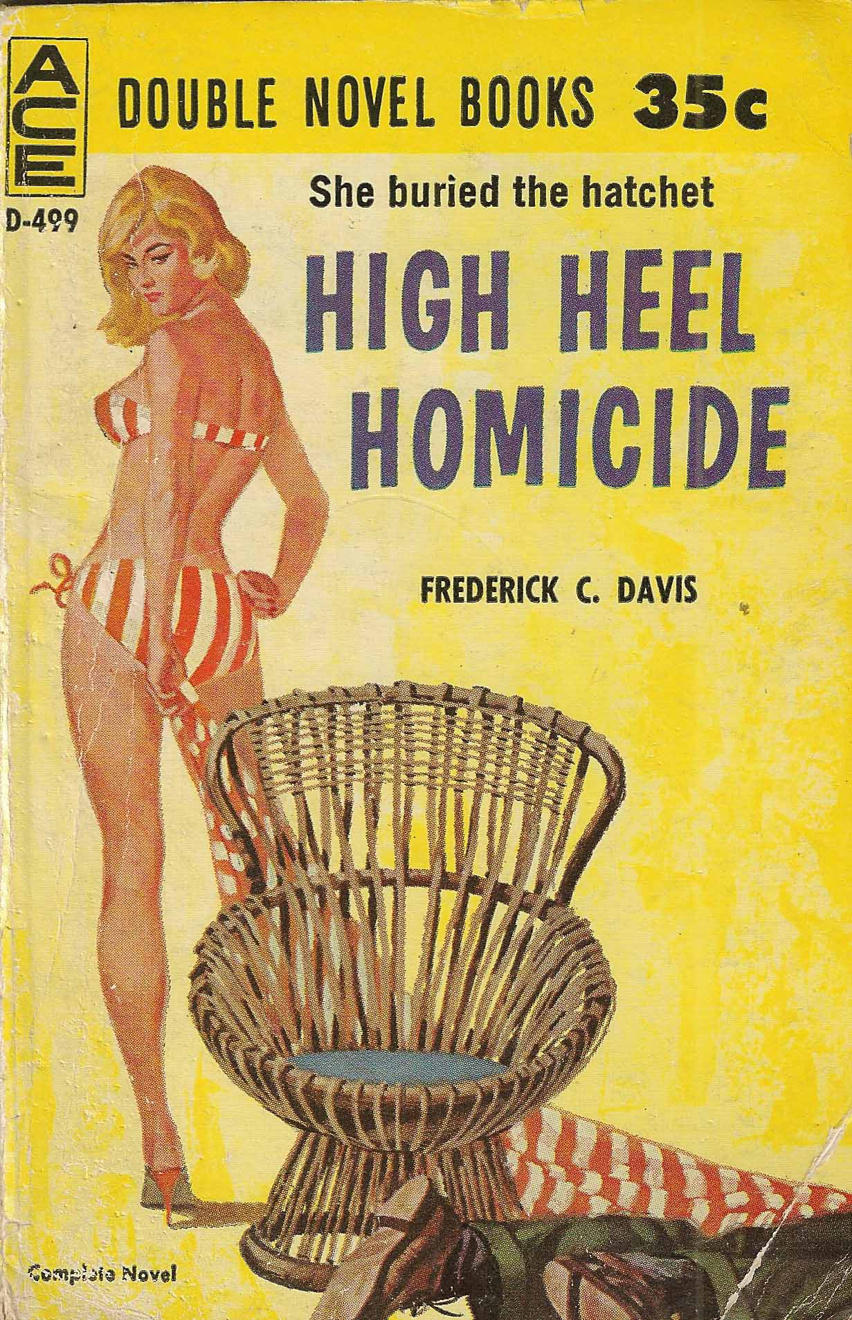 Image result for high heel homicide cover