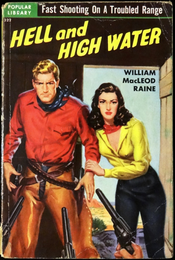 Popular Library 322 (March, 1951). First Printing. Cover Art by Samuel Cherry