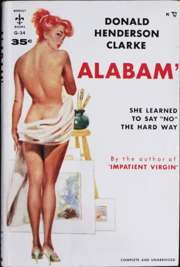 Berkley G-34 (Sept., 1956). First Printing. Cover Artist is Uncredited