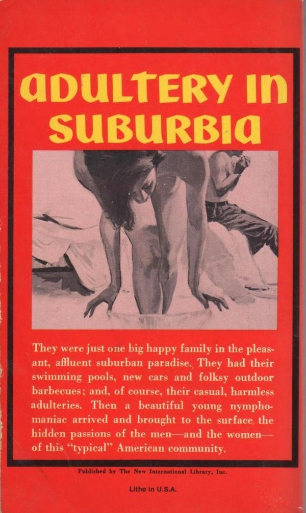 Adulltery in Suburbia, 1964 - illus Bernard Barton.BACK2