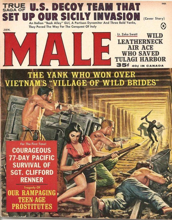 Adventure Magazine Jan 1963