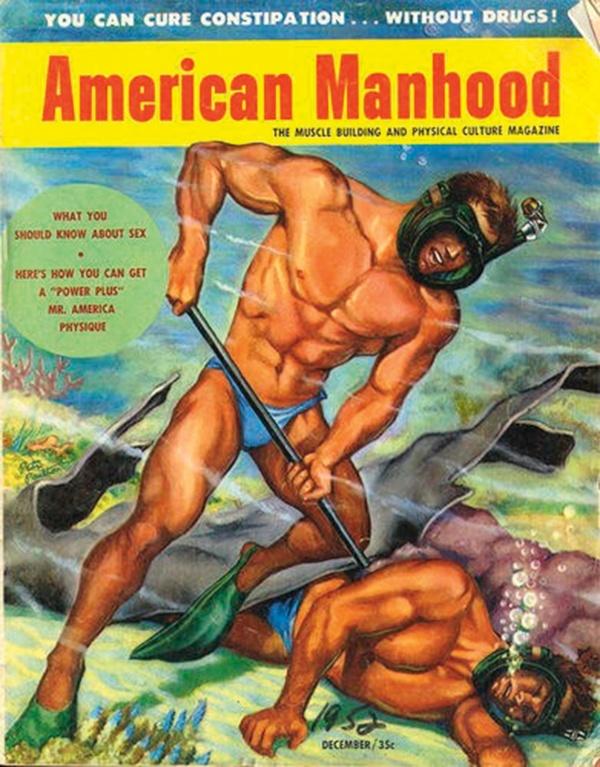 American Manhood December 1952