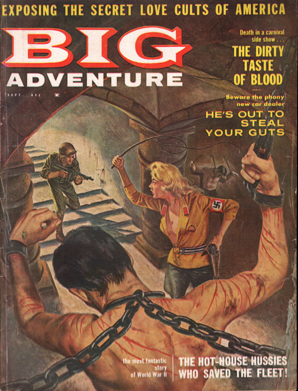 Big Adventure Magazine September 1960