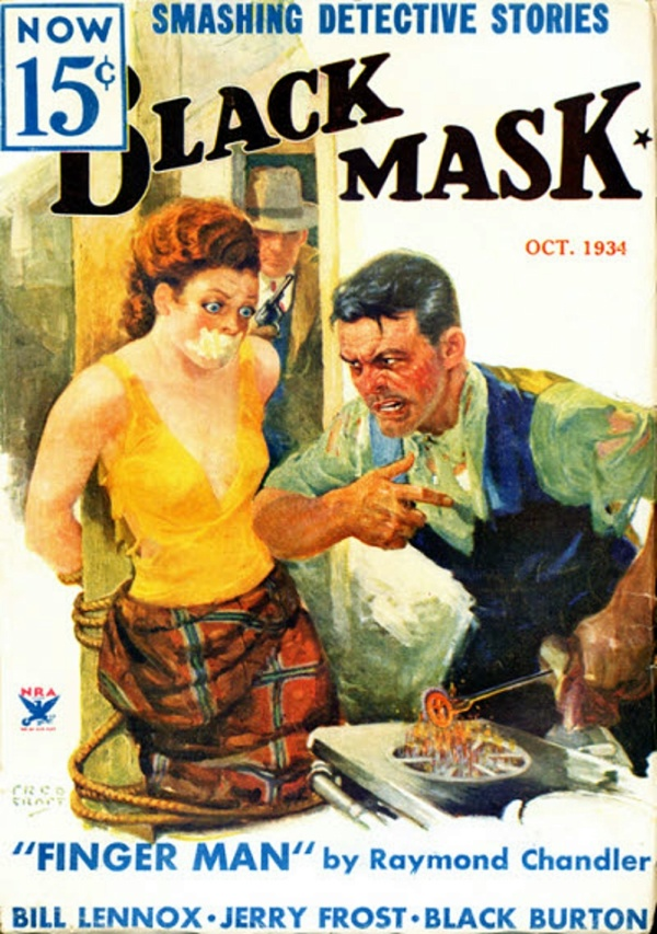 Black Mask, October 1934