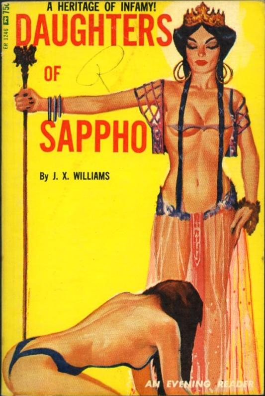 DAUGHTERS OF SAPPHO nightstand evening reader ER1246 1966