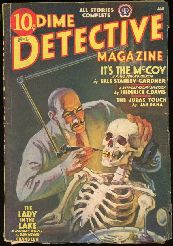 DIME DETECTIVE MAGAZINE. January 1939