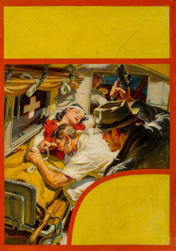 Dames on a Bullet Binge, Ten Detective Aces cover, June 1941