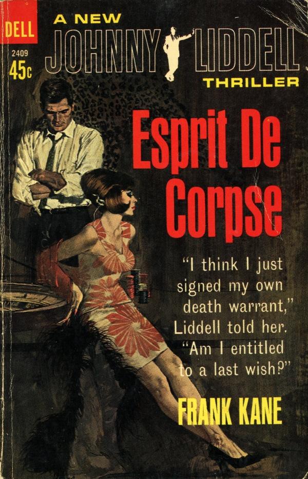 Dell Books 2409 - Frank Kane - Esprit de Corpse