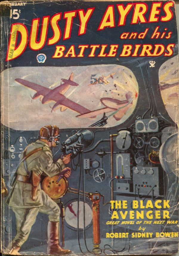 Dusty Ayres And His Battle Birds February 1935
