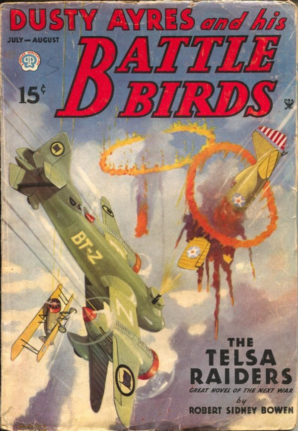 Dusty Ayres And His Battle Birds July 1935