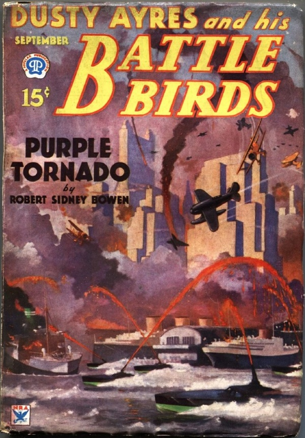 Dusty Ayres And His Battle Birds September 1934