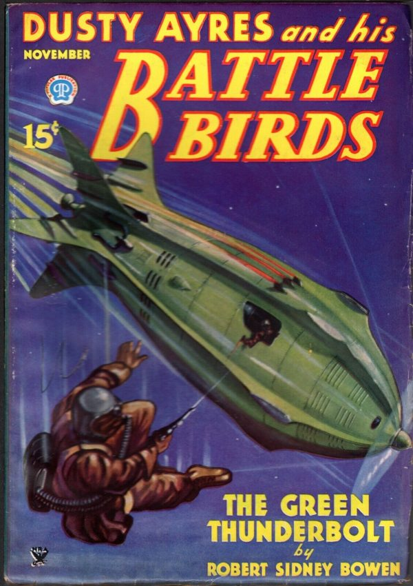 Dusty Ayres and his Battle Birds November, 1934