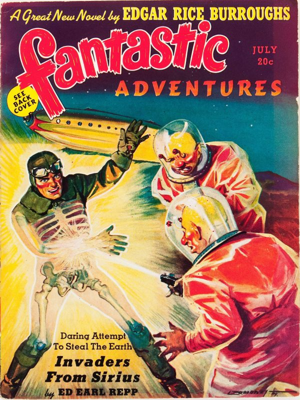 Fantastic Adventures, July 1939