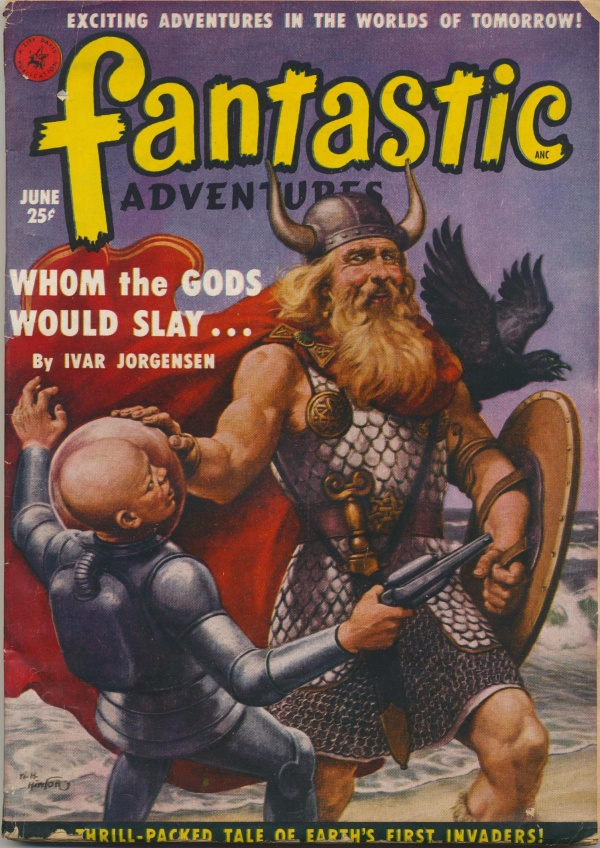 Fantastic Adventures, June 1951