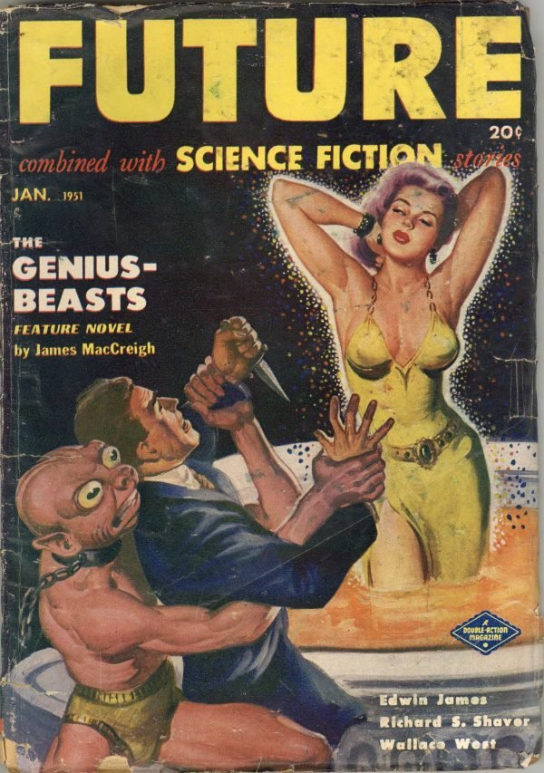 Future Combined with Science Fiction Stories, January 1951