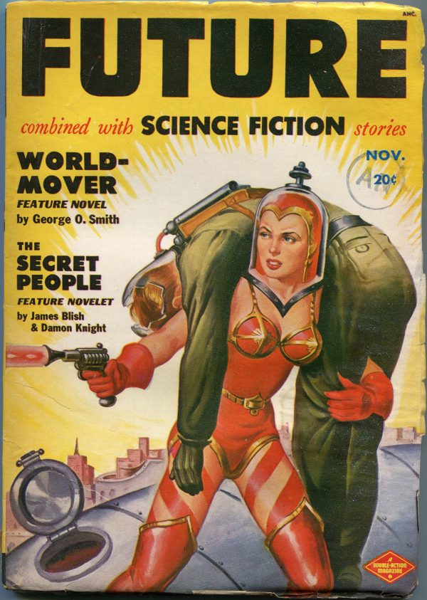 Future Science Fiction November 1950