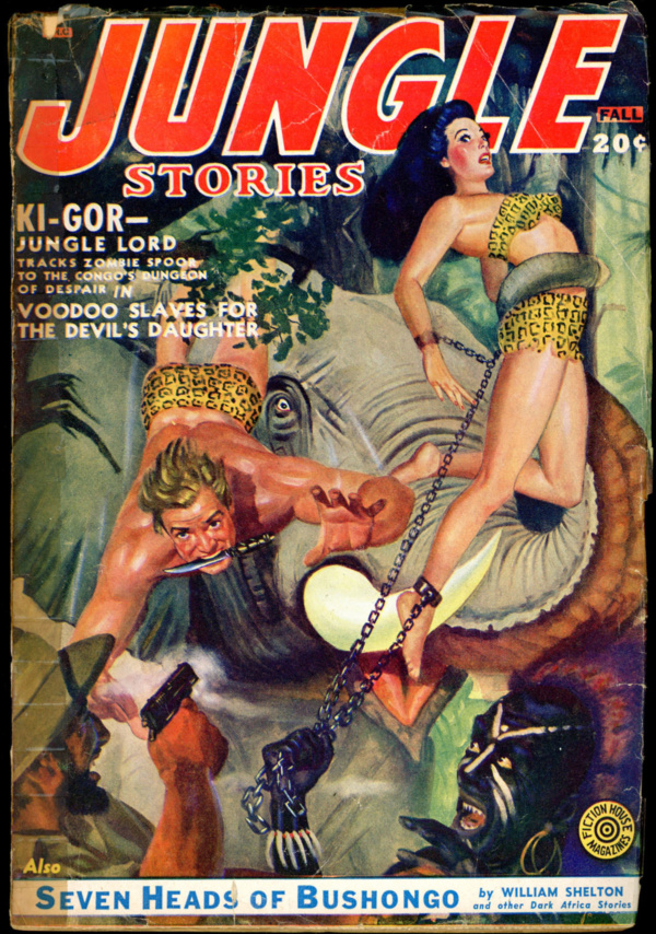 JUNGLE STORIES. Fall 1950