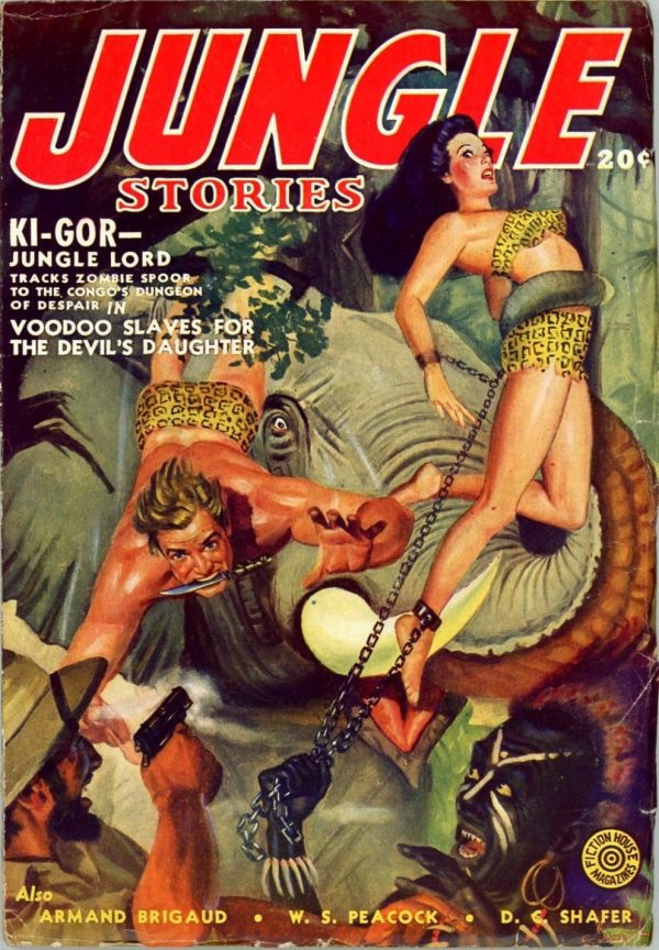 Jungle Stories, February 1943
