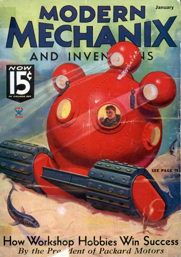 Modern Mechanix January 1935